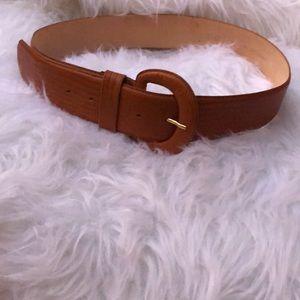Vintage Axiom Genuine Leather Belt Size XL